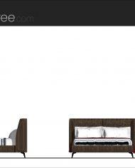arquibed01 – Sheet – 2 – Realistic – no edges – Elevation