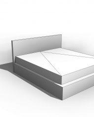 arquibed03 – 3D View – Coarse Hidden Line