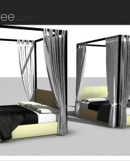 arquibed04 – Sheet – 4 – Realistic – no edges – perspective