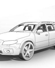 arquicar01 – 3D View – Front