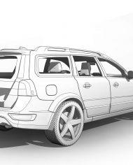 arquicar01 – 3D View – Rear