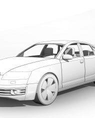 arquicar02 – 3D View – Front