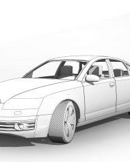 arquicar02 – 3D View – Front_2