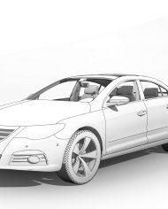 arquicar06 – 3D View – Front