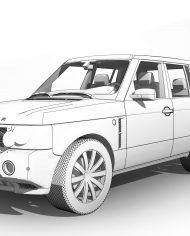 arquicar07 – 3D View – Front