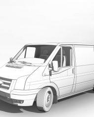 arquicar11 – 3D View – Front 2