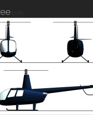 arquicopter01 – Sheet – 2 – Realistic – no edges – Elevation
