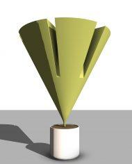 arquiplant35 – 3D View – Realistic COARSE