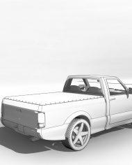 arquicar12 – 3D View – Rear