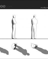arquifigure06 – Sheet – 1 – Hidden line Elevation