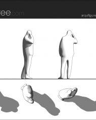 arquifigure07 – Sheet – 1 – Hidden line Elevation