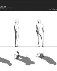 arquifigure11 – Sheet – 1 – Hidden line Elevation