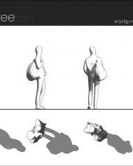 arquifigure13 – Sheet – 1 – Hidden line Elevation