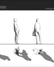 arquifigure161 – Sheet – 1 – Hidden line Elevation