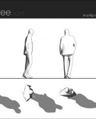 arquifigure39 – Sheet – 1 – Hidden line Elevation