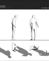 arquifigure69 – Sheet – 1 – Hidden line Elevation
