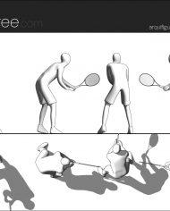 arquifigure125 – Sheet – 1 – Hidden line Elevation