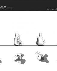 arquifigure176 – Sheet – 1 – Hidden line Elevation