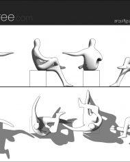 arquifigure184 – Sheet – 1 – Hidden line Elevation