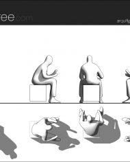 arquifigure21 – Sheet – 1 – Hidden line Elevation