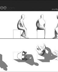 arquifigure25 – Sheet – 1 – Hidden line Elevation