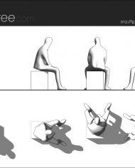 arquifigure57 – Sheet – 1 – Hidden line Elevation