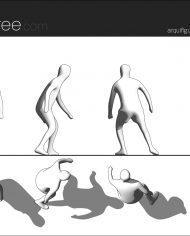 arquifigure85 – Sheet – 1 – Hidden line Elevation