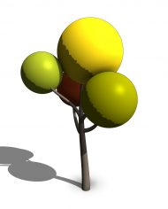 arquitree100 – 3D View – SHADED