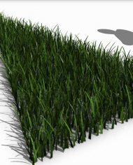 Sharp corners Fill – 3D View – realistic detail