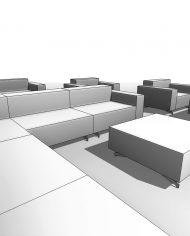arquisofaset07 – 3D View – Coarse Hidden Line