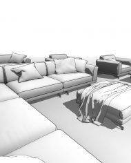 arquisofaset07 – 3D View – Fine Hidden Line