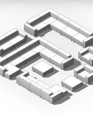 arquisofaset07_coarse detail – 3D View – AXO hidden