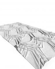 arquicarpet01 – 3D View – Coarse Hidden Line