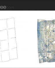 arquicarpet02 – Sheet – 5 – Hidden line and realistic plan views