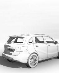 arquicar14 – 3D View – Rear
