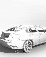 arquicar15 – 3D View – Rear
