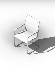 arquichair04 – 3D View – AXO hidden