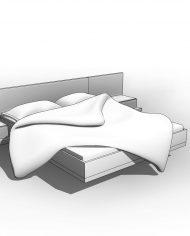 arquibed10 – 3D View – Fine Hidden Line