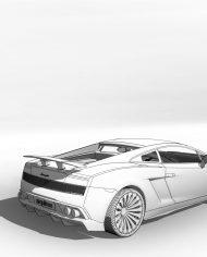 arquicar19 – 3D View – Rear