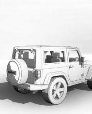 arquicar20 – 3D View – Rear