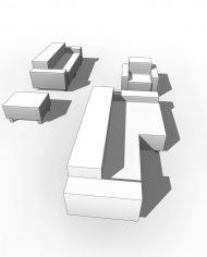 arquisofaset12 – 3D View – Coarse Hidden Line