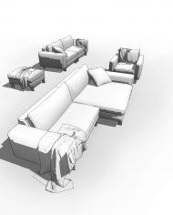 arquisofaset12 – 3D View – Fine Hidden Line