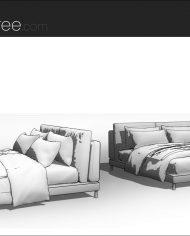 arquibed12 – Sheet – 3 – Hidden line Perspective