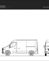 arquicar21 – Sheet – 1 – Hidden line Elevation