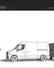 arquicar21 – Sheet – 3 – Hidden line Perspective