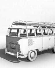 arquicar22 – 3D View – Rear