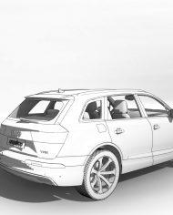 arquicar23 – 3D View – Rear