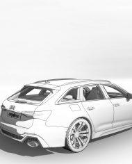 arquicar24 – 3D View – Rear