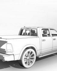 arquicar25 – 3D View – Rear