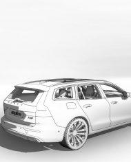 arquicar28 – 3D View – Rear